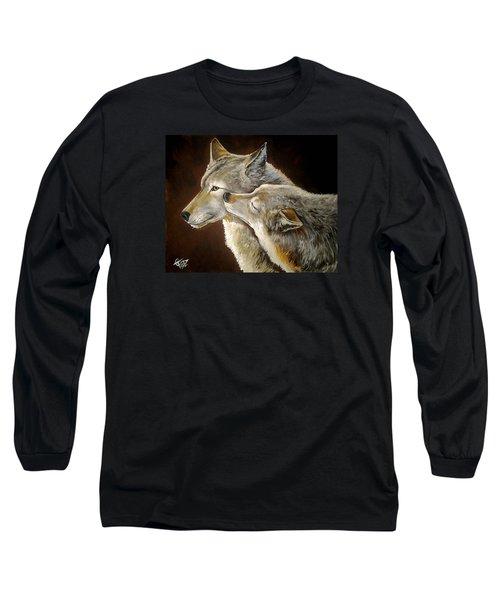 Soul Mates Long Sleeve T-Shirt by Tom Carlton