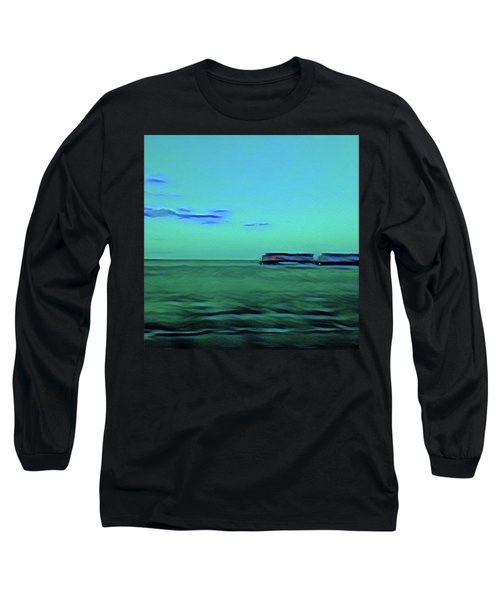 Sound Of A Train In The Distance Long Sleeve T-Shirt