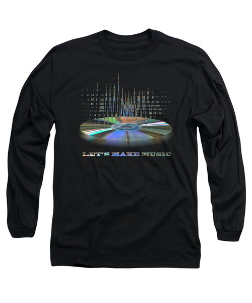 Sound Waves Long Sleeve T-Shirt