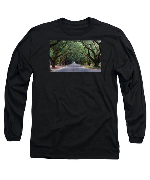 South Boundry Long Sleeve T-Shirt by Skip Willits