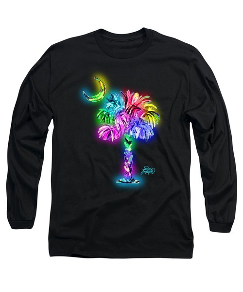 South Carolina Logo Glow Long Sleeve T-Shirt