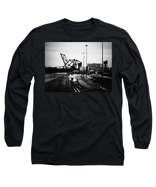 South Loop Railroad Bridge Long Sleeve T-Shirt