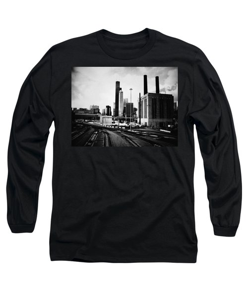 South Loop Railroad Yard Long Sleeve T-Shirt