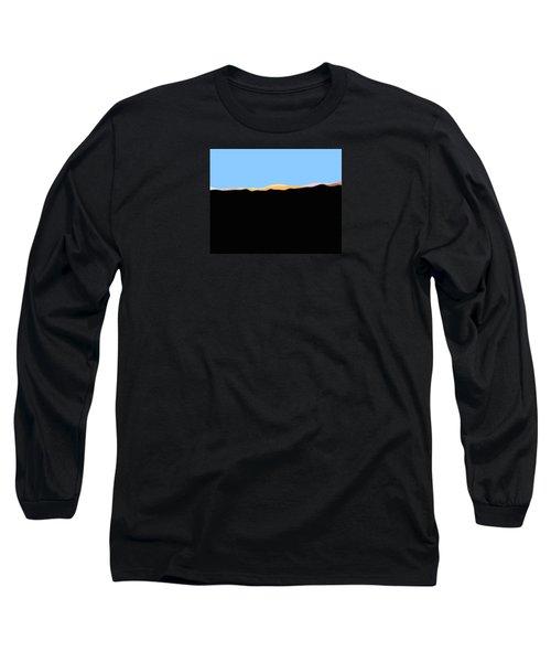 Southern San Jacintos' East End Long Sleeve T-Shirt by Stan  Magnan