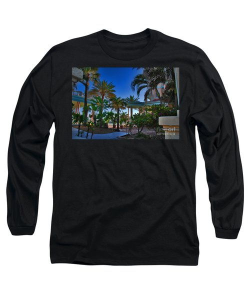 Southernmost Lush Garden In Key West Long Sleeve T-Shirt
