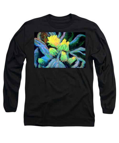 Southwesterly Cactus Impression Of.....sold Long Sleeve T-Shirt