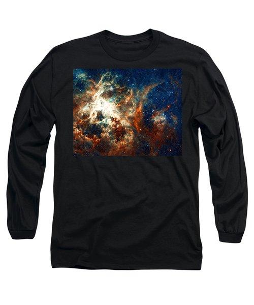 Space Fire Long Sleeve T-Shirt