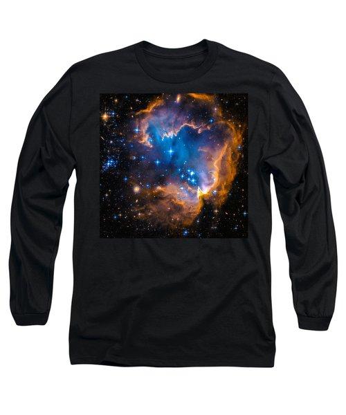 Space Image - New Stars And Nebula Long Sleeve T-Shirt