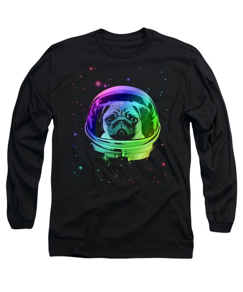Space Pug Long Sleeve T-Shirt