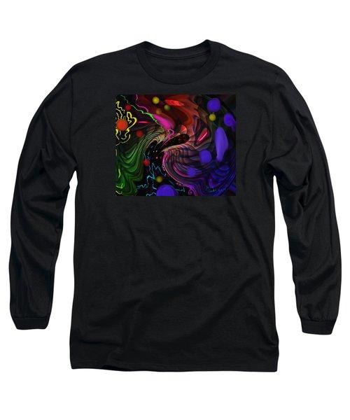 Space Rocks Long Sleeve T-Shirt