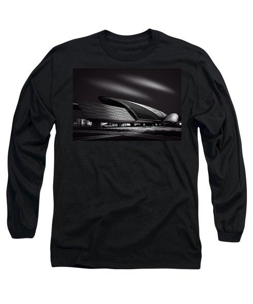 Dubai Metro Station Mono Long Sleeve T-Shirt
