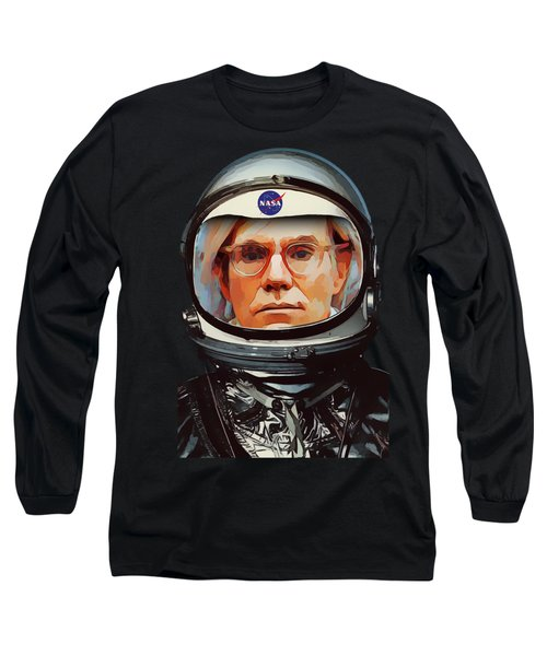 Spacesuit Warhol Long Sleeve T-Shirt