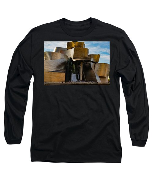 The Guggenheim Museum Spain Bilbao  Long Sleeve T-Shirt