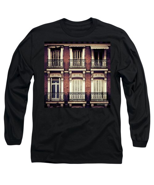 Spanish Balconies Long Sleeve T-Shirt