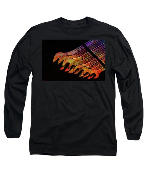 Spanners 01 Long Sleeve T-Shirt by Kevin Chippindall