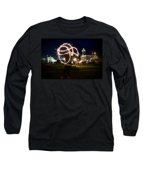 Sparkler Art Long Sleeve T-Shirt