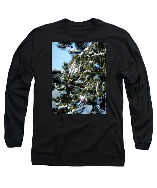 Sparkling Icicles  Long Sleeve T-Shirt