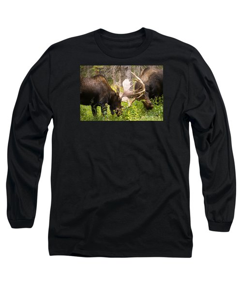 Sparring  Long Sleeve T-Shirt by Aaron Whittemore