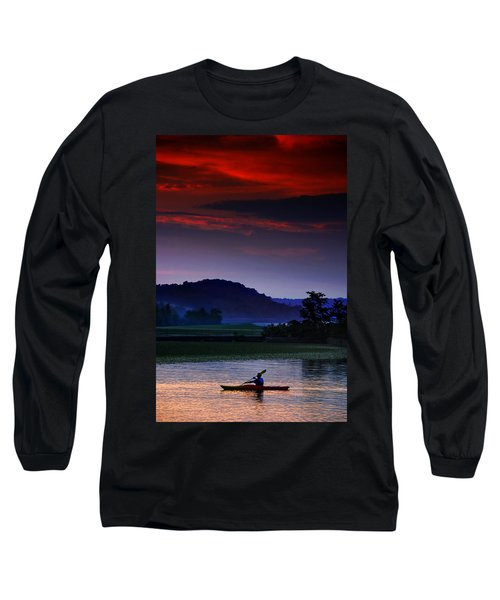Spectral Crossing Long Sleeve T-Shirt