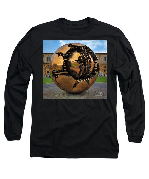 Sphere Within Sphere Long Sleeve T-Shirt