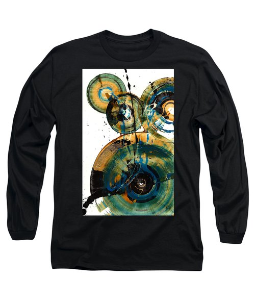 Spherical Joy Series 46.040511 Long Sleeve T-Shirt by Kris Haas