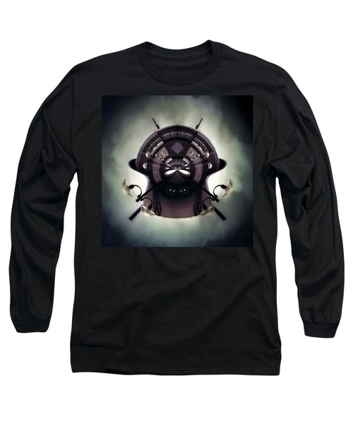 Spherical Long Sleeve T-Shirt by Jorge Ferreira