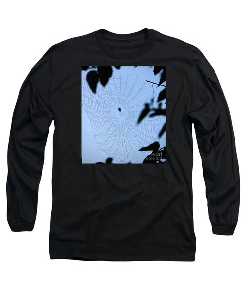 Spider In Web Long Sleeve T-Shirt