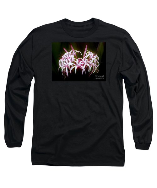 Spider Lilly Long Sleeve T-Shirt by Amar Sheow