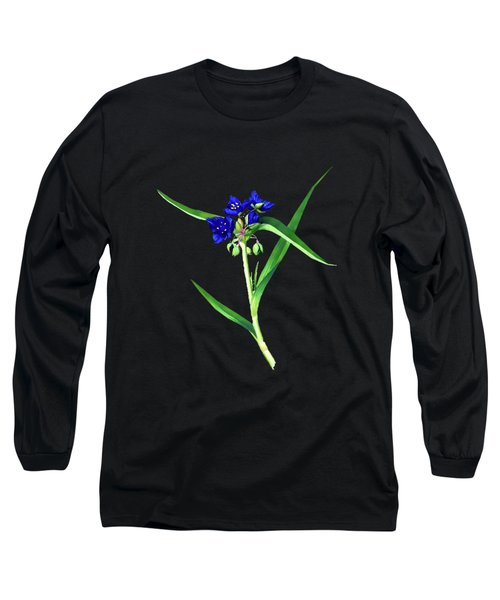 Spider Wort Long Sleeve T-Shirt