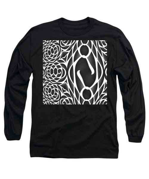 Spiral Abstract 8 Colour Choice Long Sleeve T-Shirt