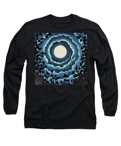 Spiral Clouds Long Sleeve T-Shirt