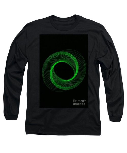 Spiral Green Long Sleeve T-Shirt