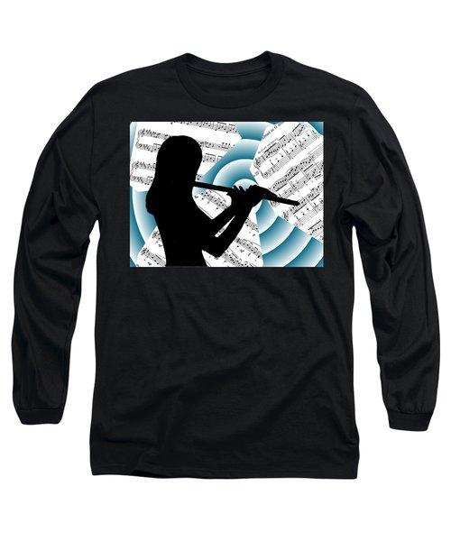 Spiral Music Long Sleeve T-Shirt