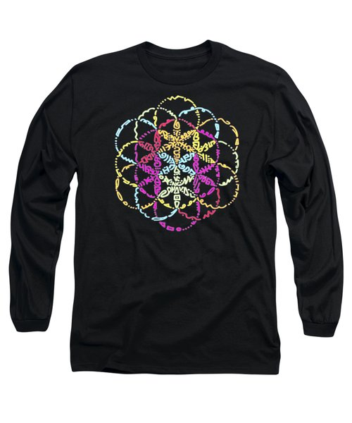 Spiral Of Color Long Sleeve T-Shirt