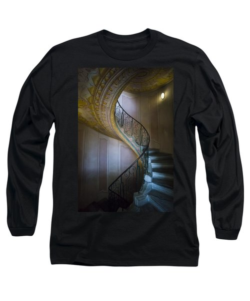 Spiral Staircase Melk Abbey II Long Sleeve T-Shirt