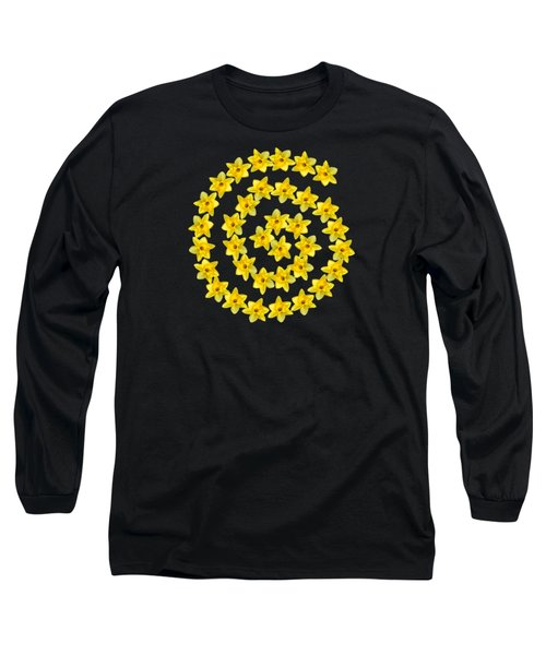 Spiral Symbol Long Sleeve T-Shirt
