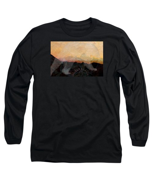 Spirit Bear # 6 Long Sleeve T-Shirt by Ed Hall