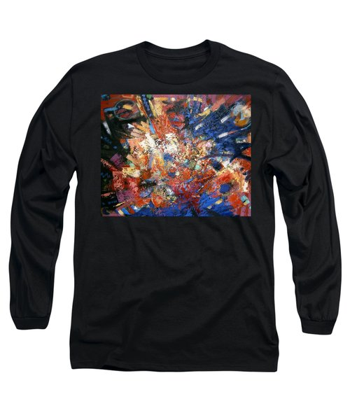 Long Sleeve T-Shirt featuring the painting Spirit by Gary Coleman