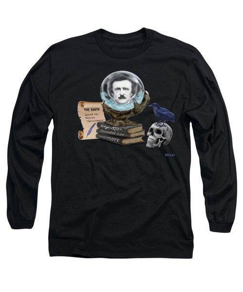 Spirit Of Edgar A. Poe Long Sleeve T-Shirt
