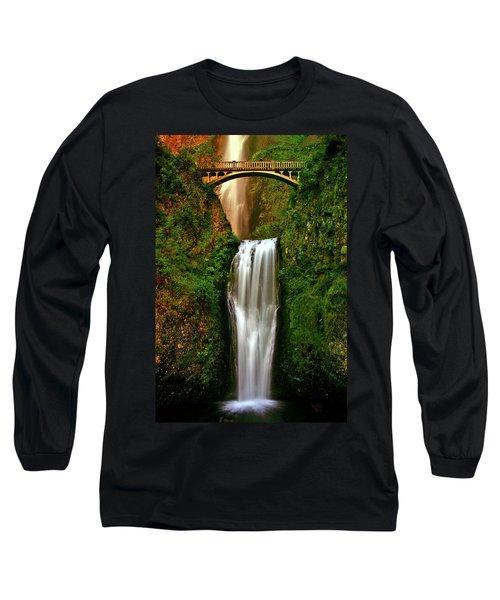 Spiritual Falls Long Sleeve T-Shirt by Scott Mahon