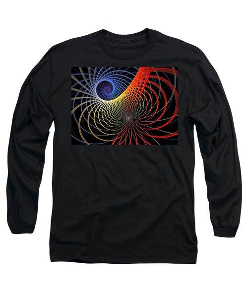Spirograph Long Sleeve T-Shirt