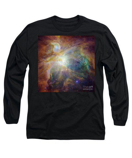 Spitzer And Hubble Create Colorful Masterpiece Long Sleeve T-Shirt