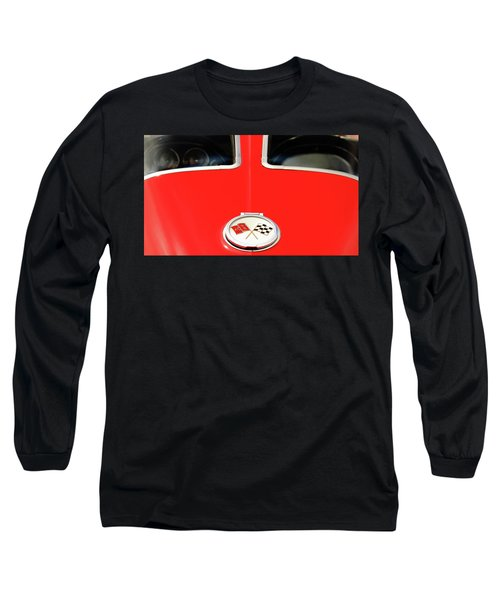 Split Window Long Sleeve T-Shirt