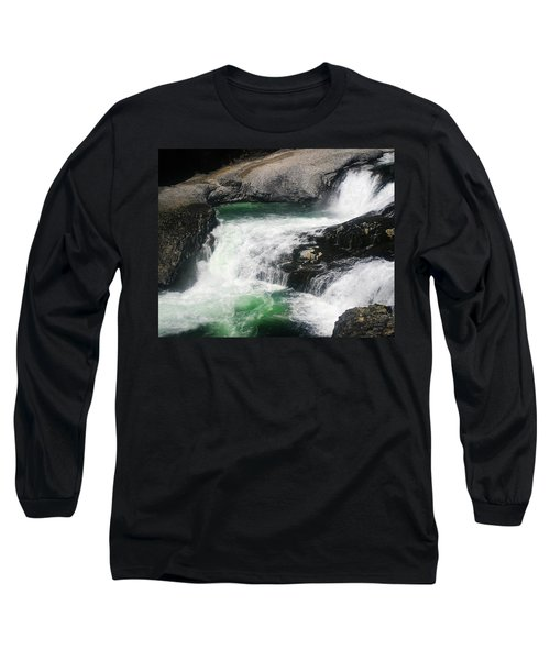 Spokane Water Fall Long Sleeve T-Shirt