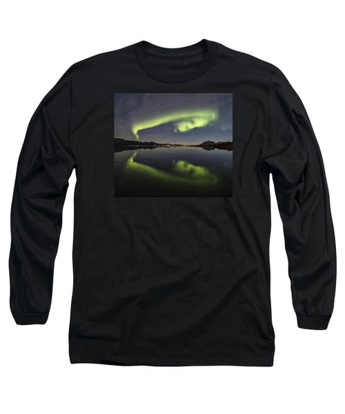Spooky Face Long Sleeve T-Shirt