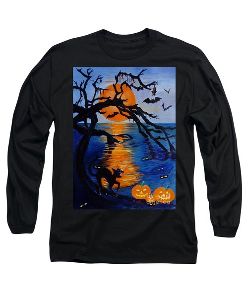 Spooky Hollow - Painting Long Sleeve T-Shirt