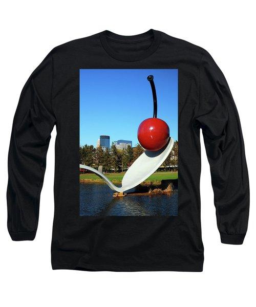 Spoonbridge Long Sleeve T-Shirt by James Kirkikis