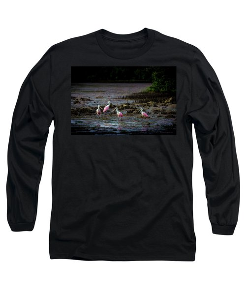 Spooning Party Long Sleeve T-Shirt