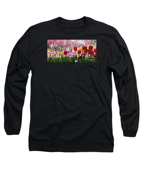 Spring Long Sleeve T-Shirt by Angela DeFrias