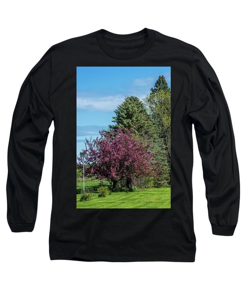 Long Sleeve T-Shirt featuring the photograph Spring Blossoms by Paul Freidlund